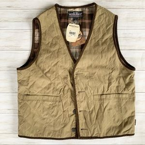 NWT Woolrich Quilted Outdoor Vest